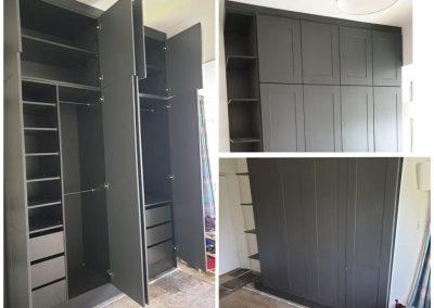 graphite shaker bedroom