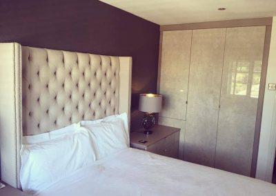 limestone bedroom