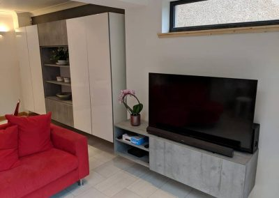 media and lounge furniture