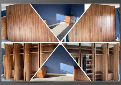 walnut bedroom